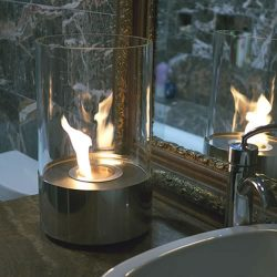 The Review Wire Holiday Gift Guide: Tabletop Cylindrical Fireplace