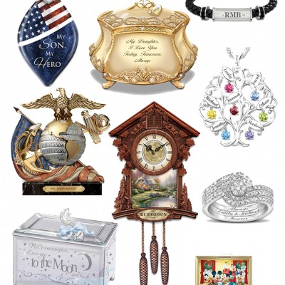 This Season Give Personalized Gifts from The Bradford Exchange