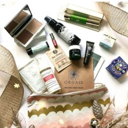 The Choosy Chick 2018 Green Beauty Bag