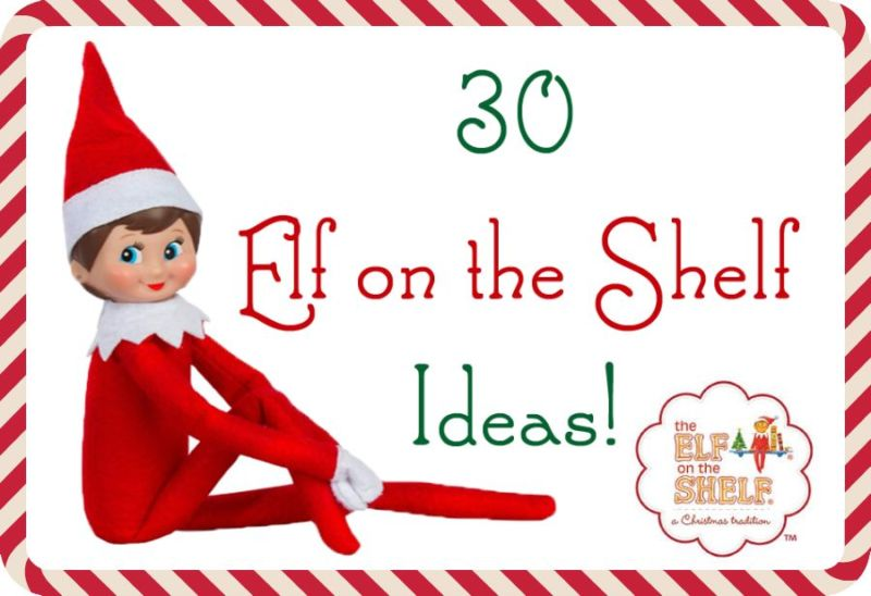 The Review Wire: 30 Elf on the Shelf Ideas