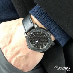 The Review Wire Holiday Guide - Apollo Carbon Fiber Watch