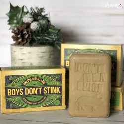 The Review Wire Holiday Guide - Boys Don't Stink Soap