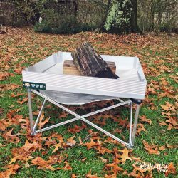 The Review Wire: Holiday Guide: Campfire Defender Pop-Up Pit