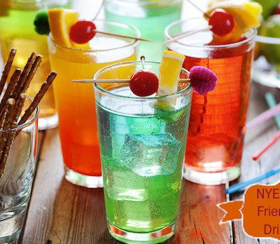 New Year's Eve Kid Friendly Drinks