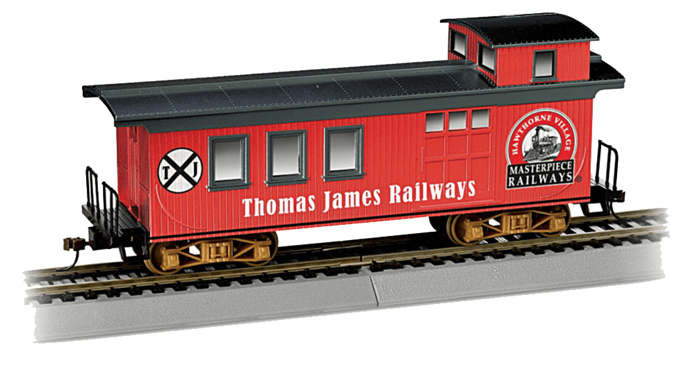 The Review Wire: The Bradford Exchange Personalized Gifts: Personalized HO-Scale Caboose Train Car