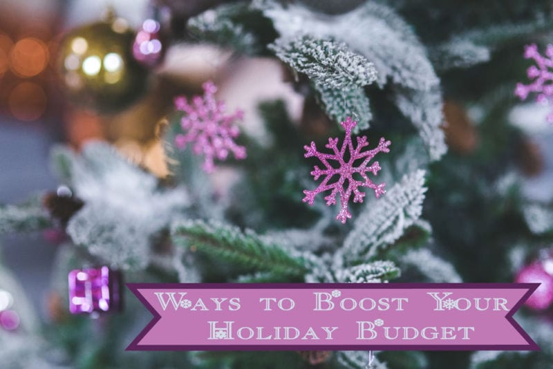 The Review Wire: Ways to Boost Your Holiday Budget