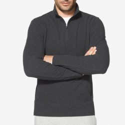 Tommy John Go Anywhere French Terry Quarter Zip