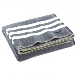 Faribault Stripe Trapper Wool Throw
