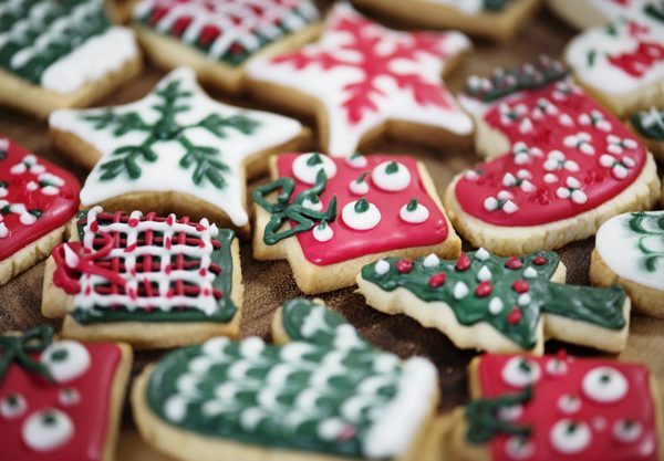 Christmas theme cookies - image Provided by FreePik