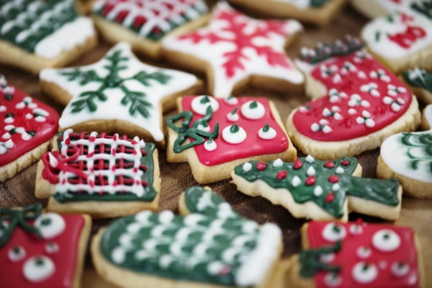 Host a Cookie Exchange: Christmas Theme Cookies - Image Provided by FreePik