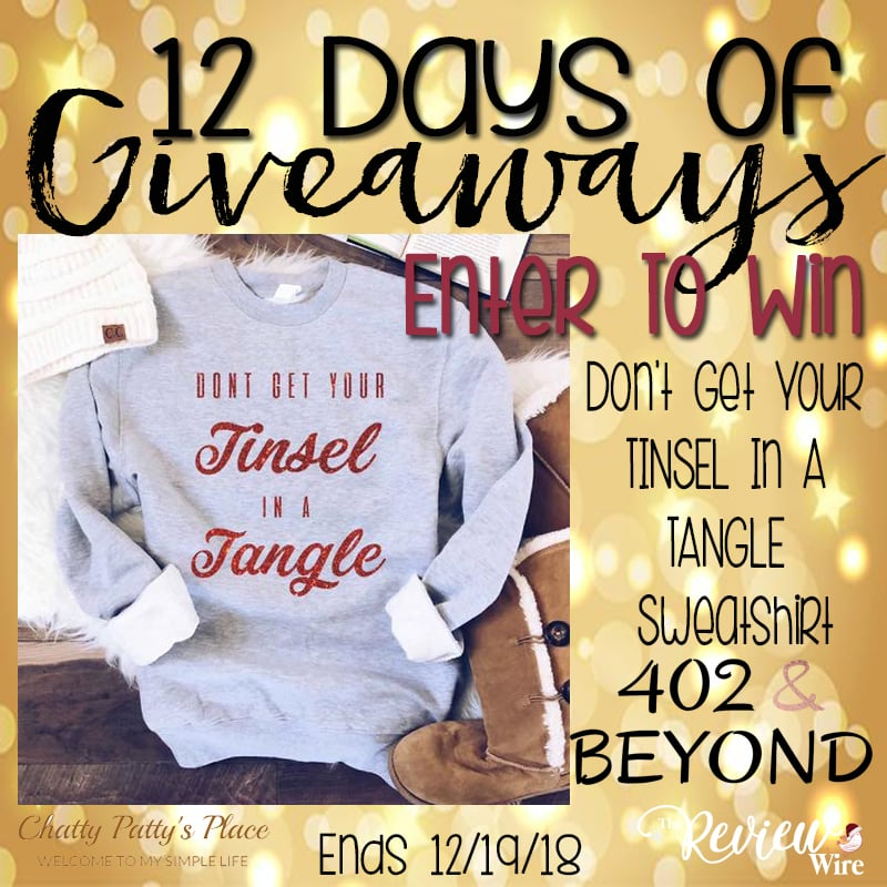 402 & Beyond Tinsel in a Tangle Sweatshirt Giveaway