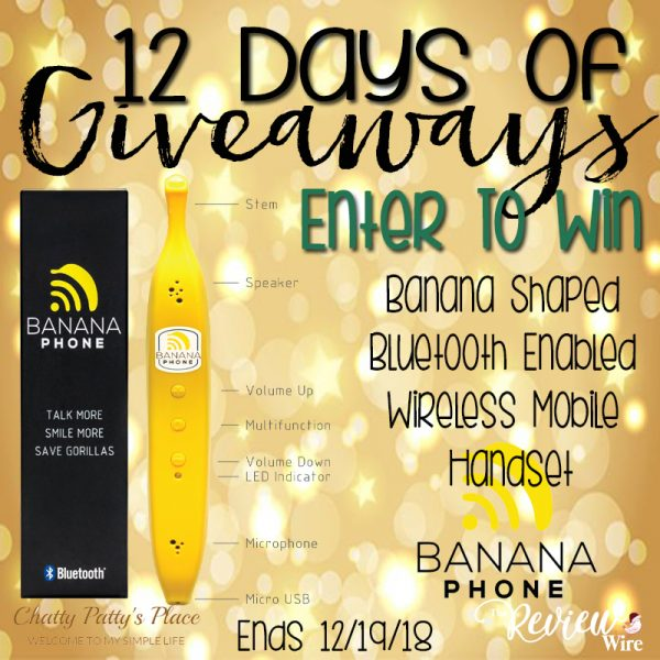 The Review Wire: Banana Phone Giveaway. Ends 12.19.18