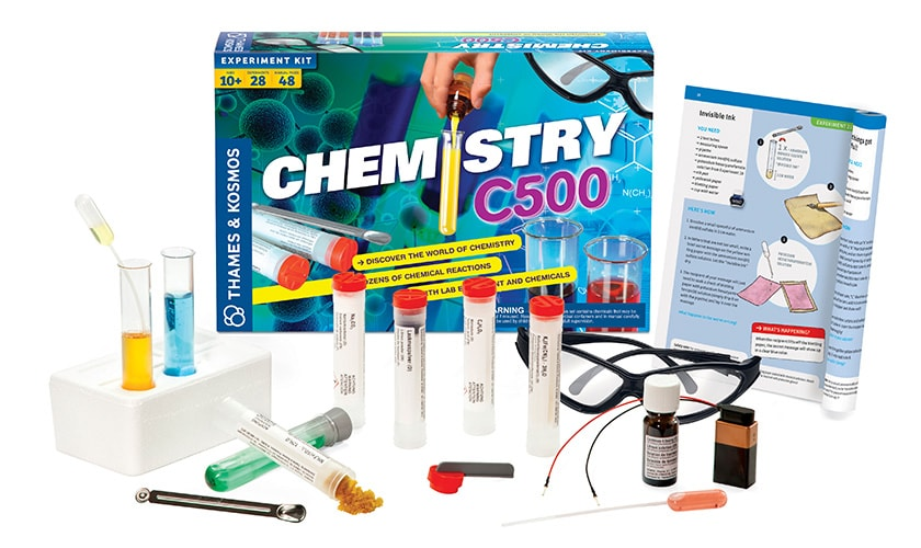 Chemistry C500 Set Contents