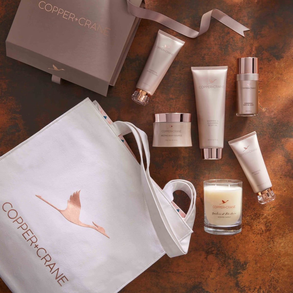 Copper and Crane Spa Collection Gift Set