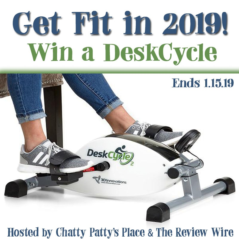 The Review Wire: DeskCycle Giveaway. Ends 1.15.19