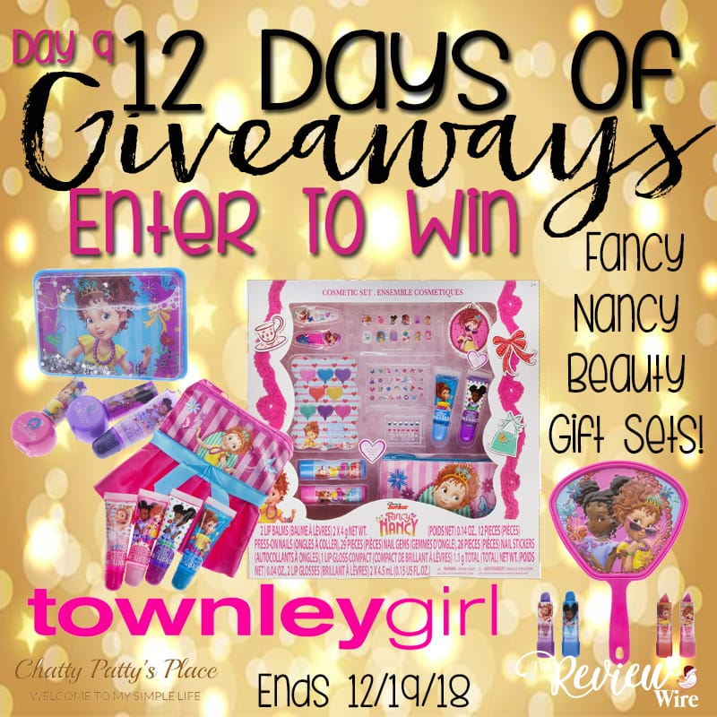 The Review Wire: Fancy Nancy Gift Sets Giveaway. Ends 12.19.18