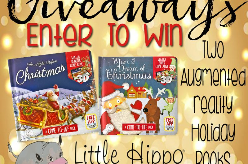 Little Hippo AR Holiday Books Giveaway
