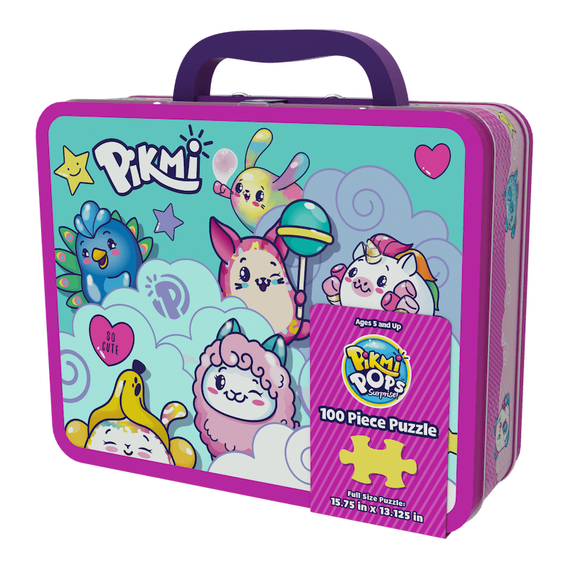 """Pikmi Pops """"Lunchbox Puzzle' Lunchbox"""
