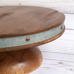 The Review Wire Holiday Guide: Reclaimed Wood Cake Stand