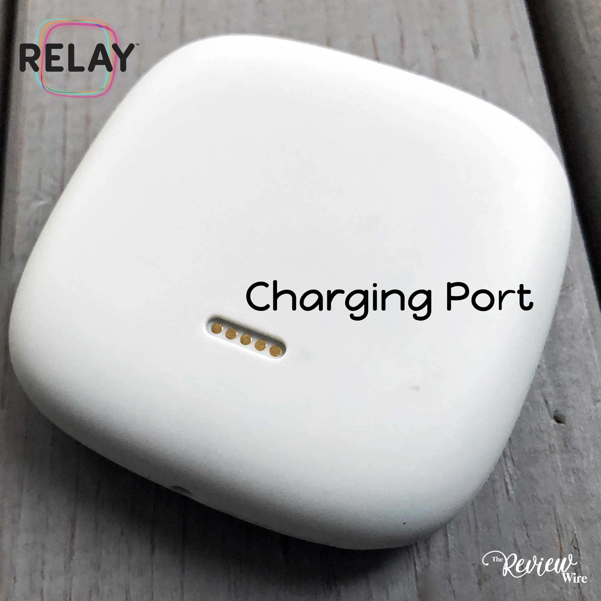 The Review Wire: Relaygo Charging Port
