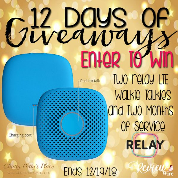 The Review Wire: Relaygo Giveaway. Ends 12/19/18