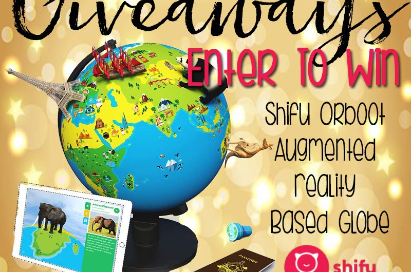 The Review Wire: Shifu Orboot Augmented Reality Based Globe Giveaway. Ends 12/19/18