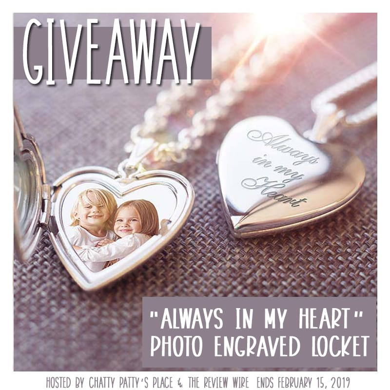 Pictures on Gold Locket Giveaway. Ends 2.15.19