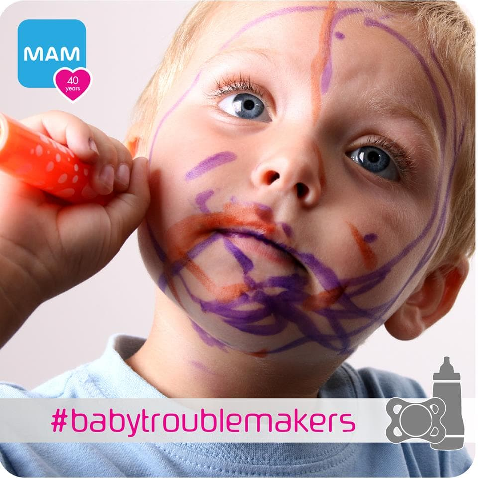 MAM #babytroublemakers