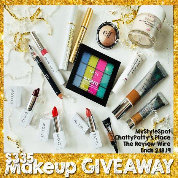 Makeup Giveaway. Ends 2.18.19