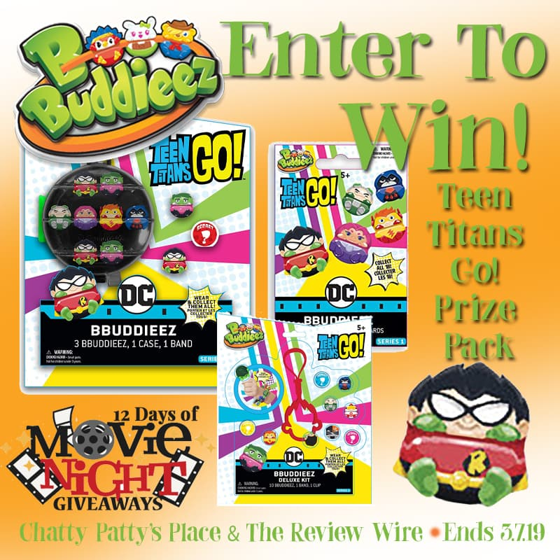 The Review Wire: Bbuddieez Prize Pack Giveaway. Ends 3.7.19
