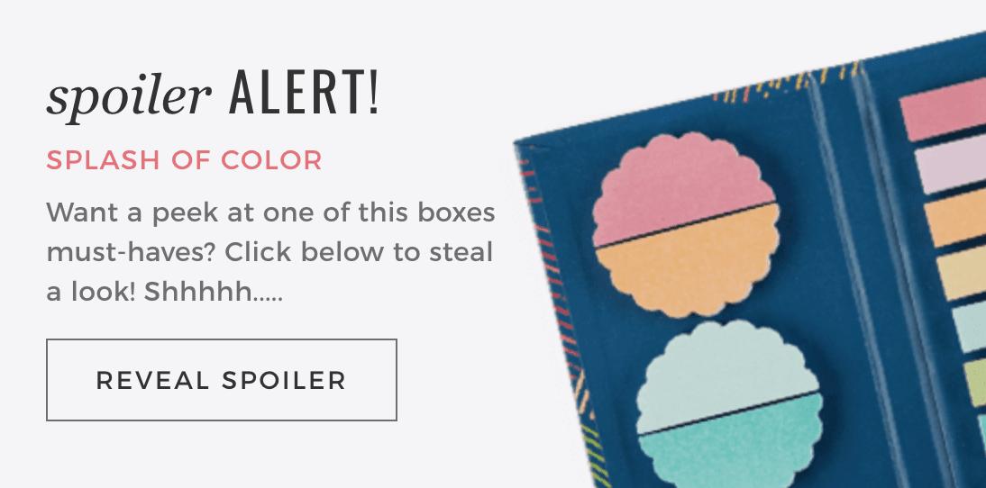 Erin Condren Spring Box Color Reveal