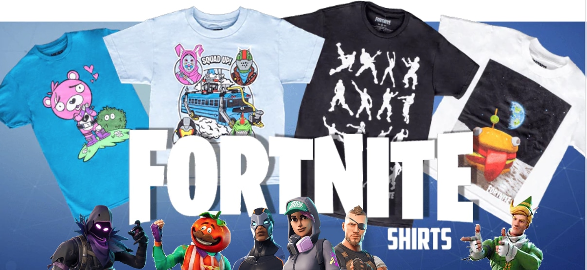 Fortnite T-shirts from TV Store Online
