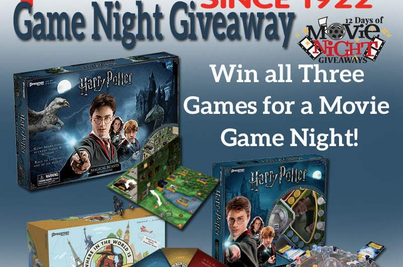 The Review Wire: Pressman Toy Game Night Giveaway. Ends 3/1/19