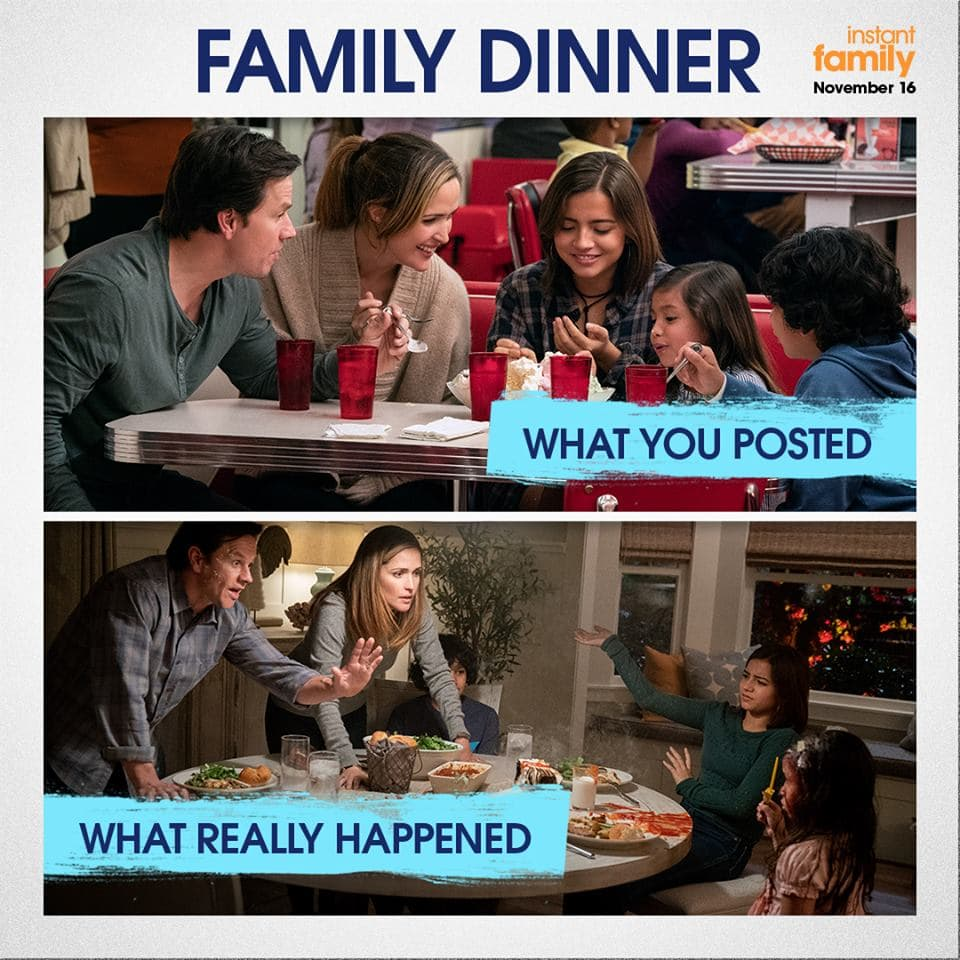 Instant Family Family Dinner