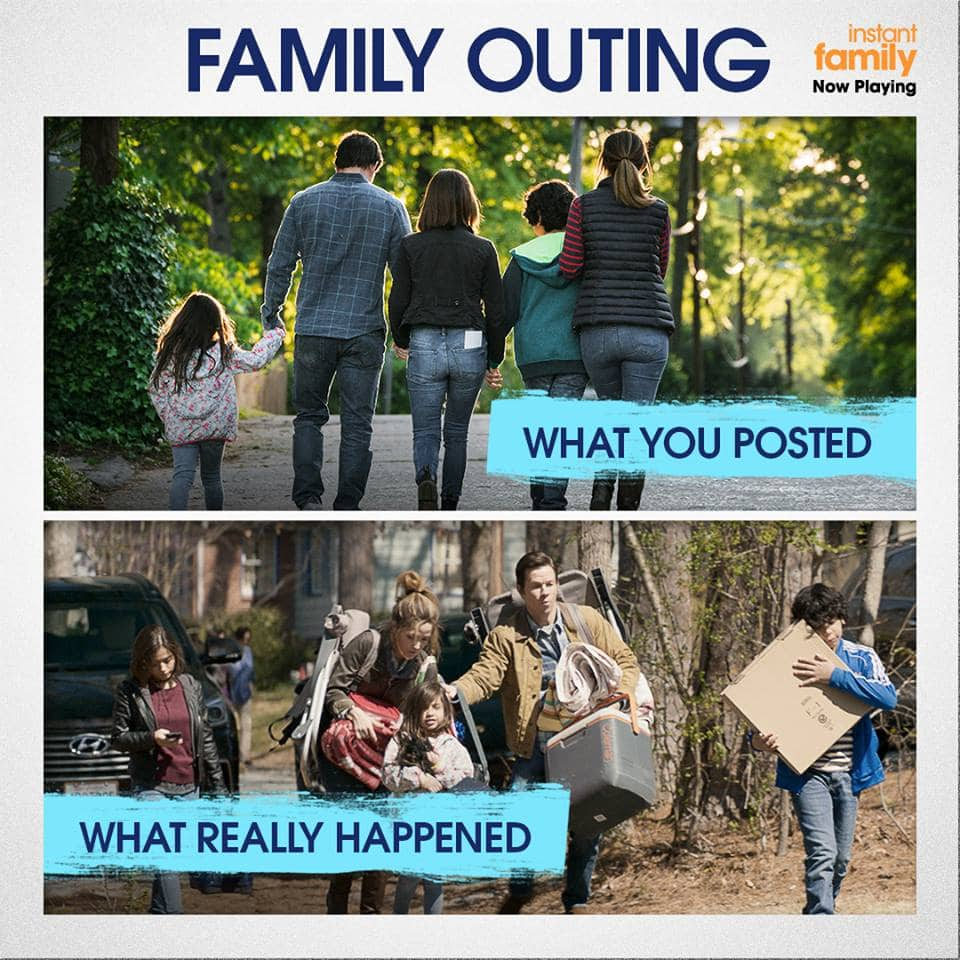 Instant Family Family Outing