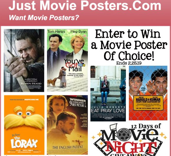 JustMoviesPosters.com Giveaway