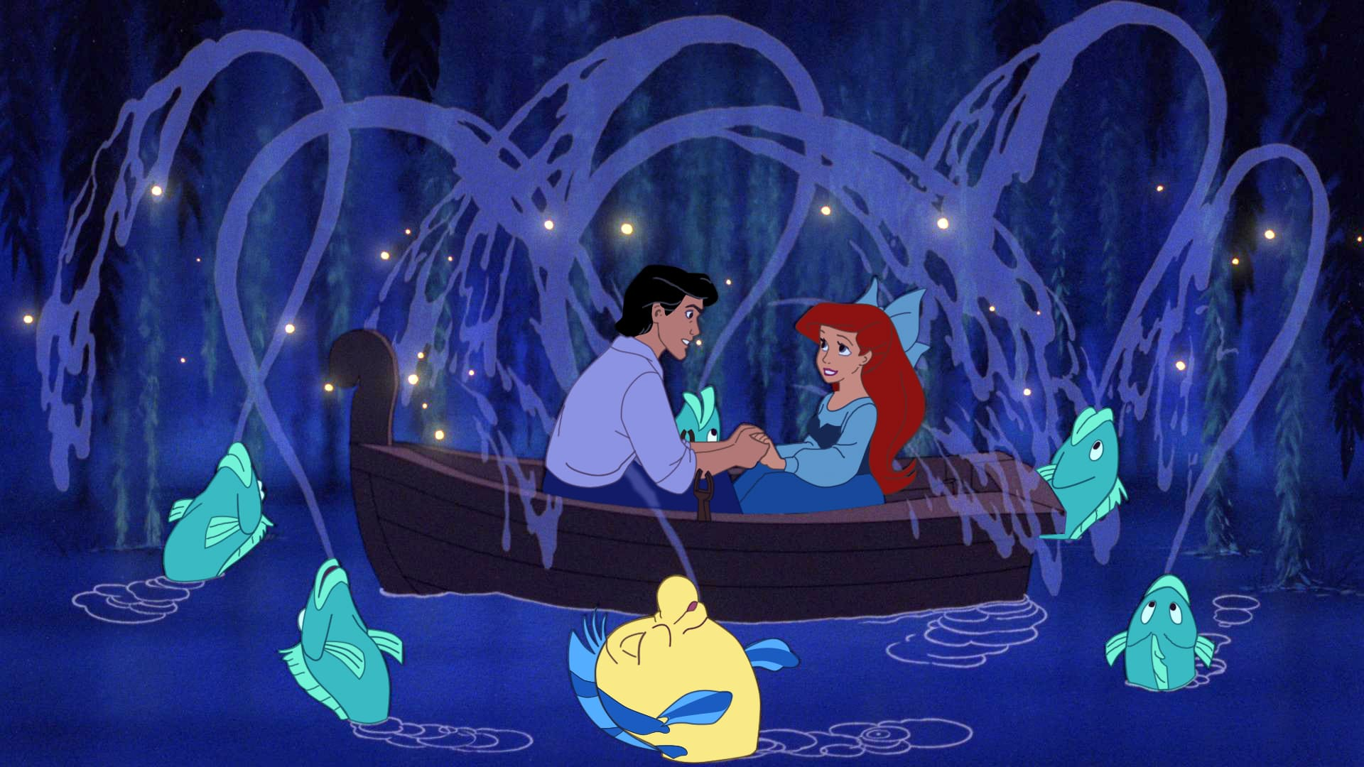 Little Mermaid - Kiss the Girl