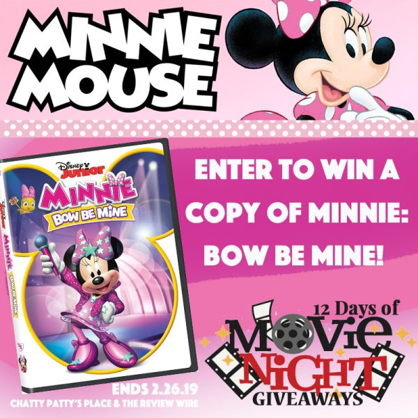 Minnie Bow Be Mine Giveaway. Ends 2/26/19