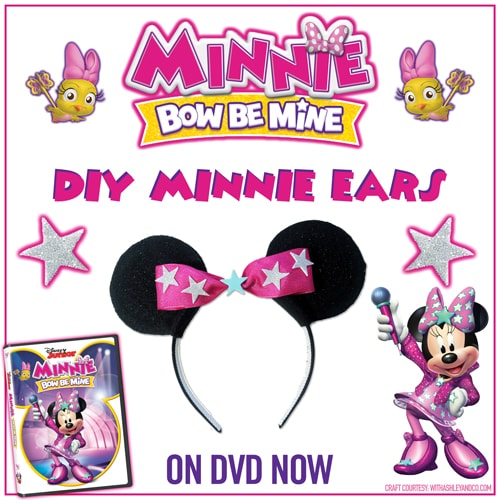Minnie Bow Be Mine Minnie Ears Craft