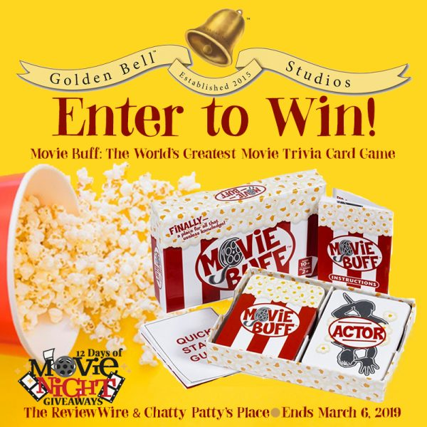 The Review Wire: Movie Buff Giveaway. Ends 3.6.19