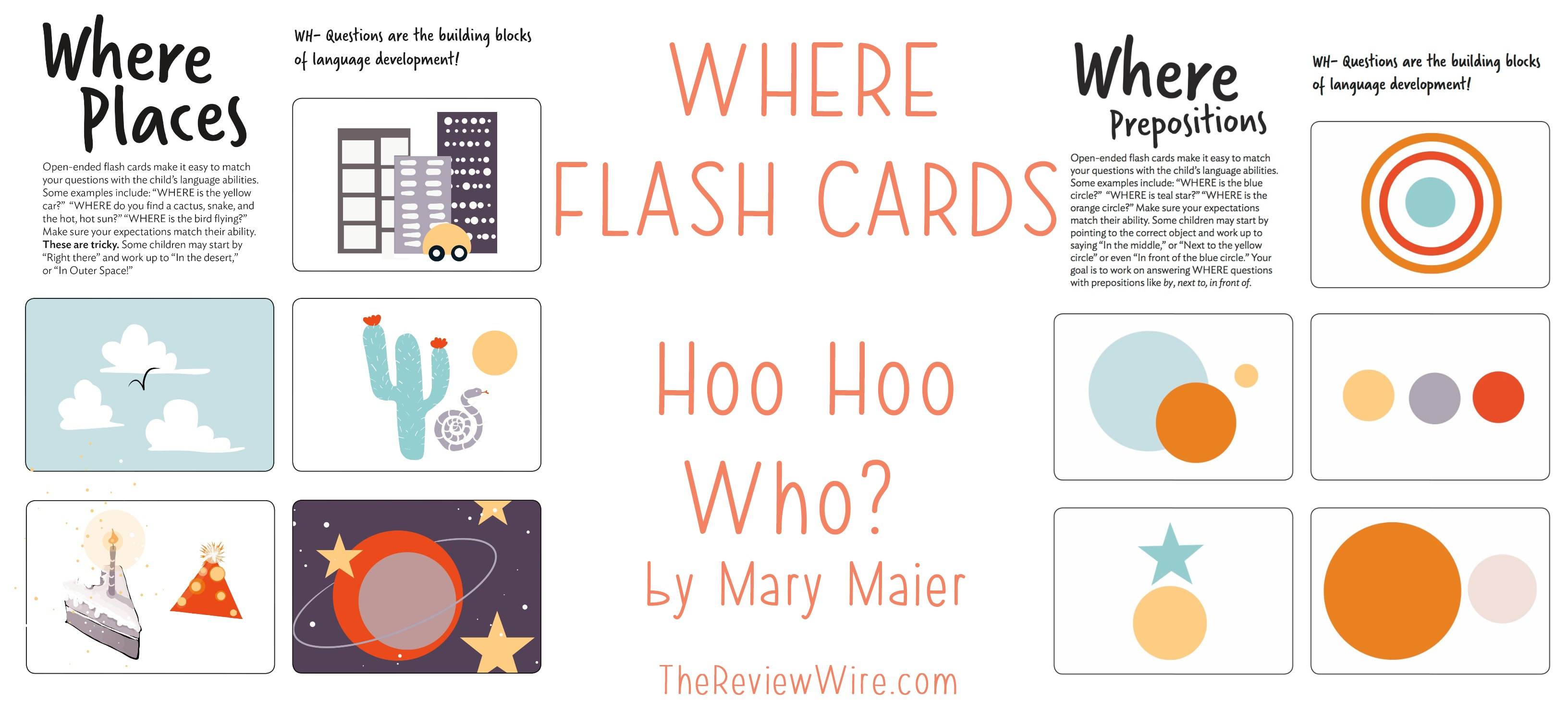 The Review Wire: WHERE Flash Cards Printable