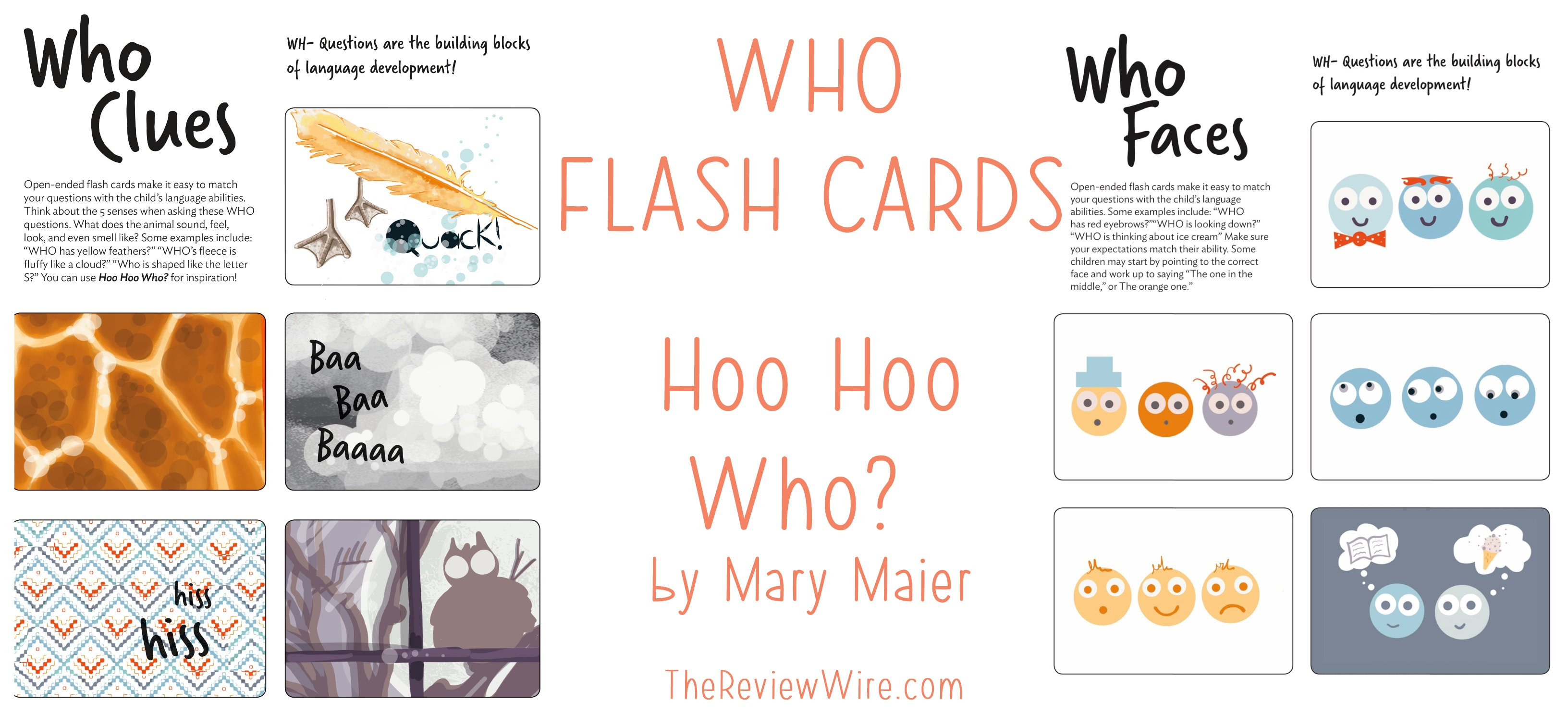 The Review Wire: WHO Flash Cards Printables
