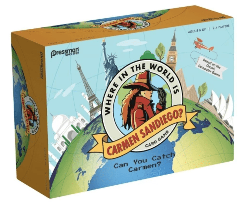 Where in the World is Carmen Sandiego? Game
