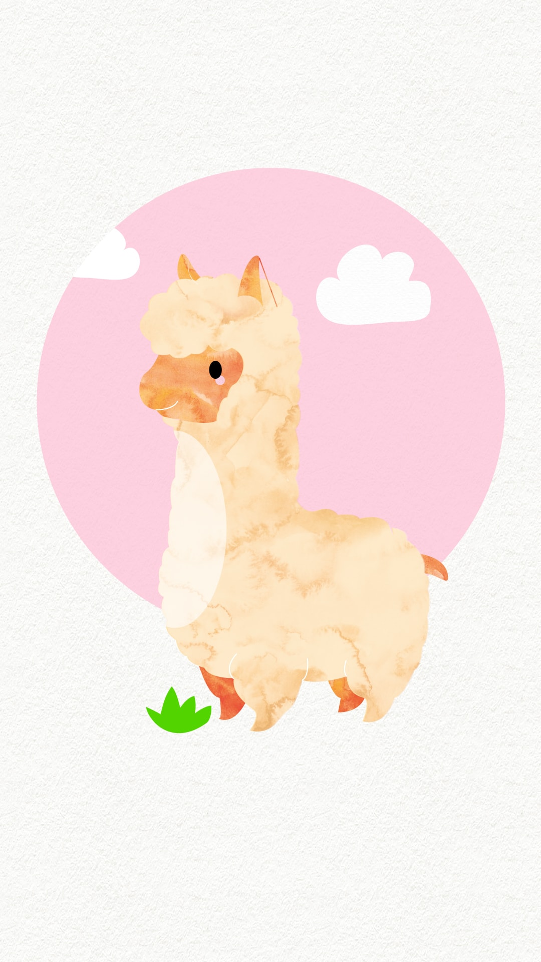 iPhone Wallpaper: lama_rose