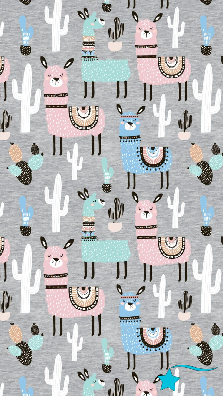 For The Love Of Llamas 10 Cutesy Llama Iphone Wallpapers