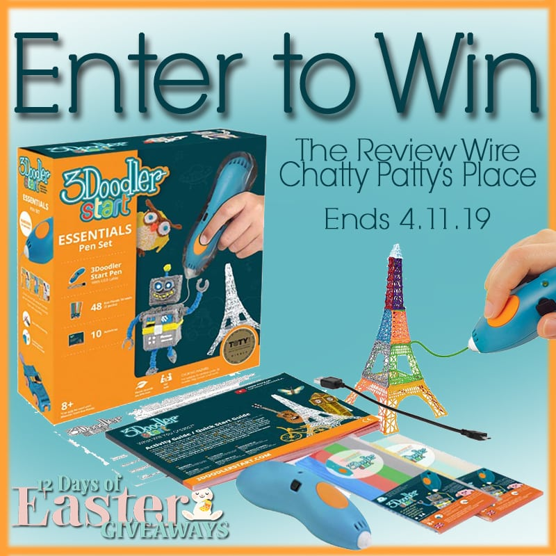 The Review Wire: 3Doodler Giveaway. Ends 4.11.19