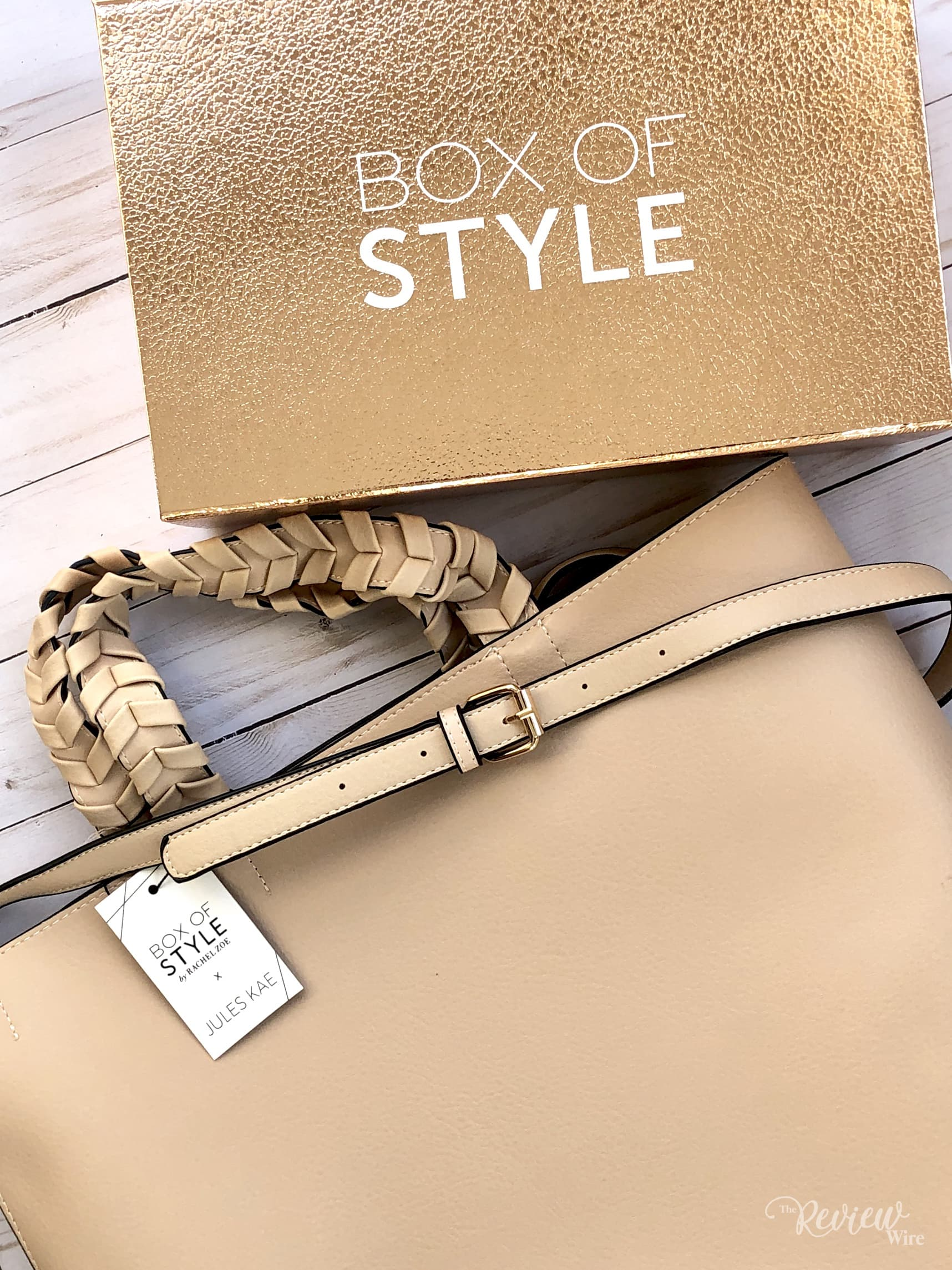The Review Wire: Box of Style Jules Kae Vegan Leather Tote