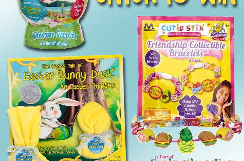 The Review Wire: Easter Bunny Dust Giveaway. Ends 4.9.19