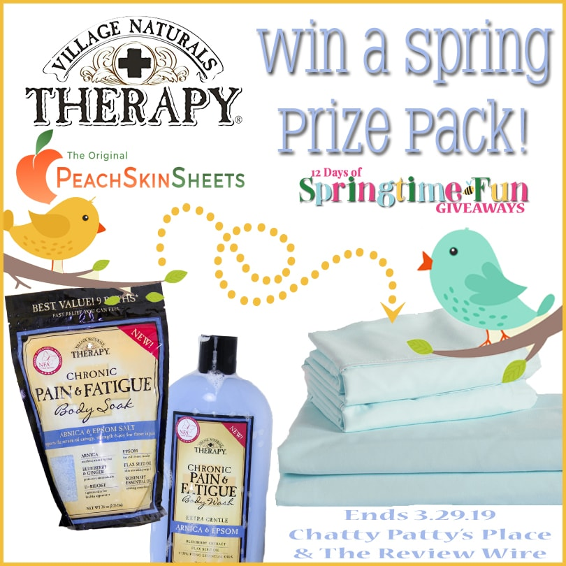 The Review Wire: Hello Spring Giveaway 2019. eNDS 3.39.19