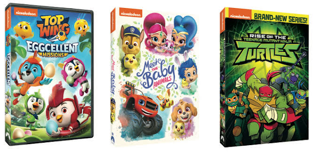 March Nickelodeon DVD Releases
